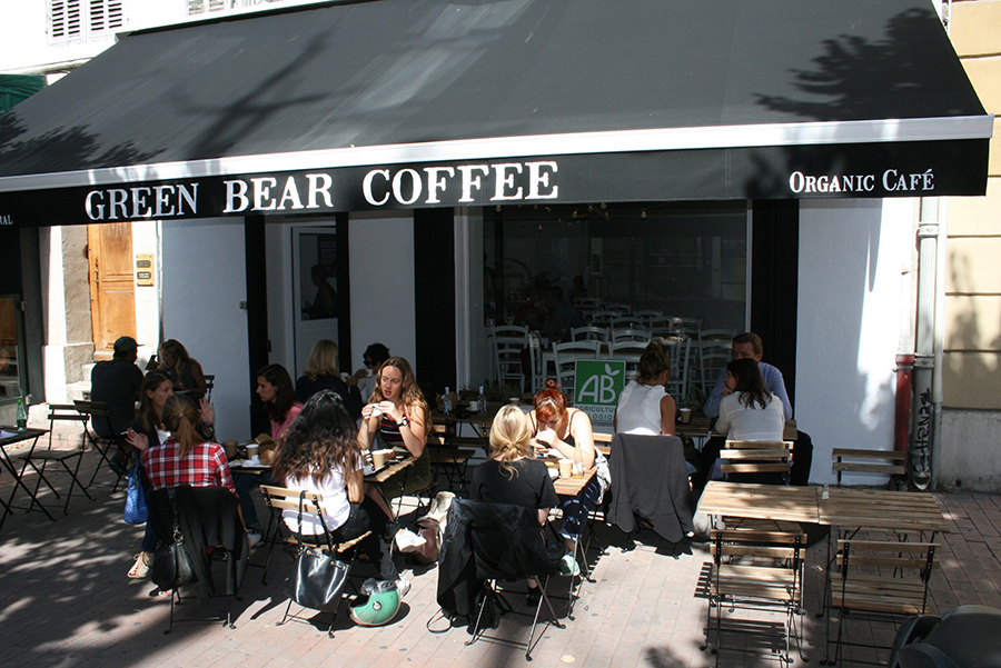 Le Green Bear Coffee