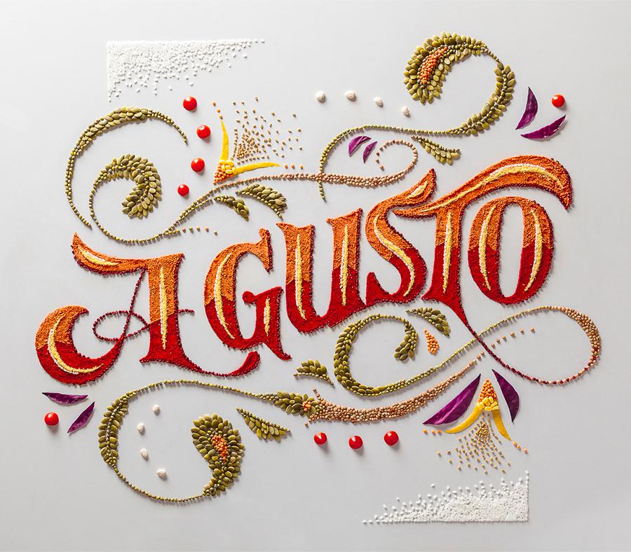 Panco Sassano et sa typographie culinaire